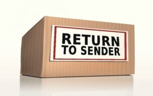 Return to Sender – June 2018